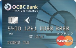 Credit Card Review: OCBC Titanium Rewards MasterCard – Mainly Miles