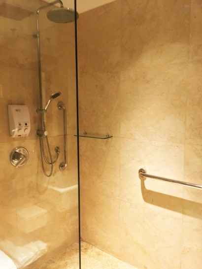 Shower cubicle (Photo: MainlyMiles)
