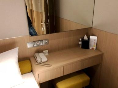 Desk area (Photo: MainlyMiles)