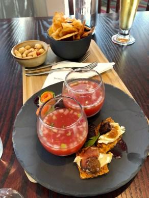 Club Lounge snacks. (Photo: MainlyMiles)