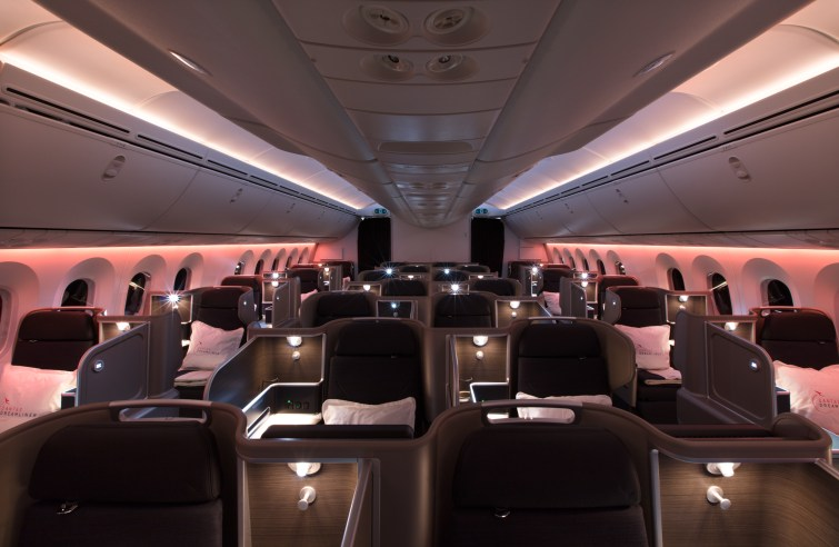 Qantas 787 New Business (Qantas Airways)