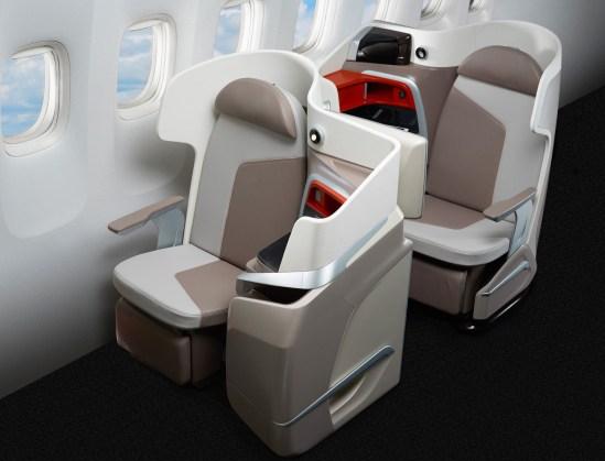 Stelia 'Opal' seat (Photo: Stelia Aerospace)