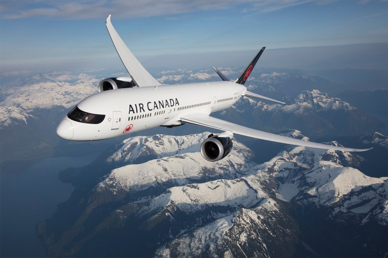 AC 787 In Flight (Air Canada)
