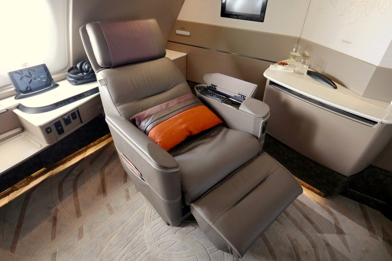 1A Seat Reclined