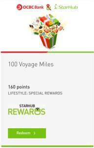 SH to Voyage Miles