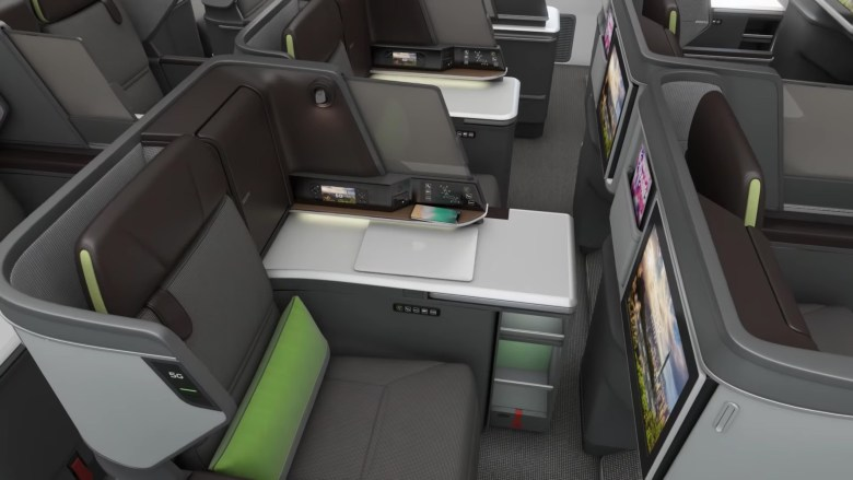 EVA New 787 Business Middle Seats