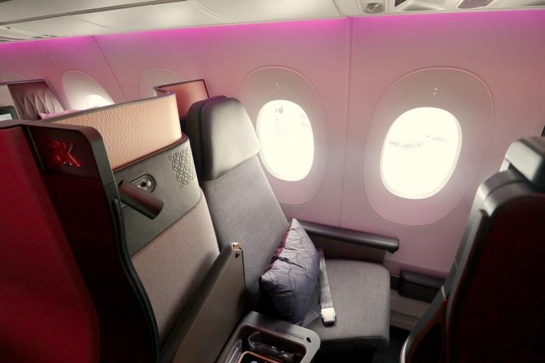 Seat 3K