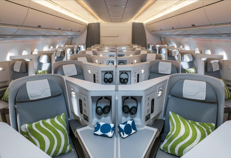 AY A350 J Overview (Finnair)