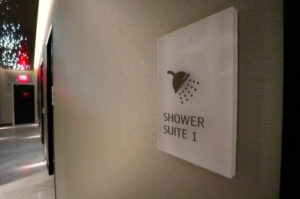 Shower Suite. (Photo: MainlyMiles)