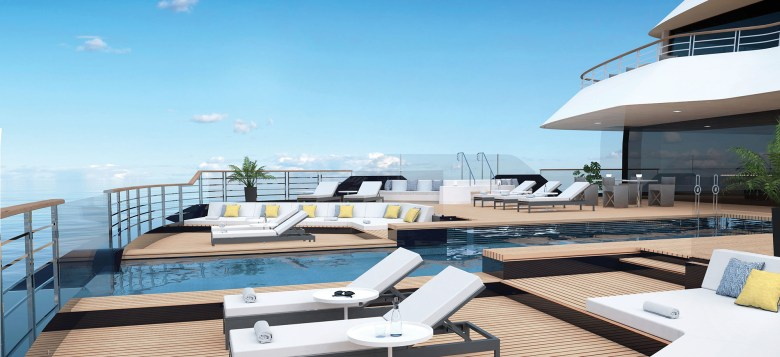 Aft Main Pool Deck (The Ritz-Carlton Yacht Collection)