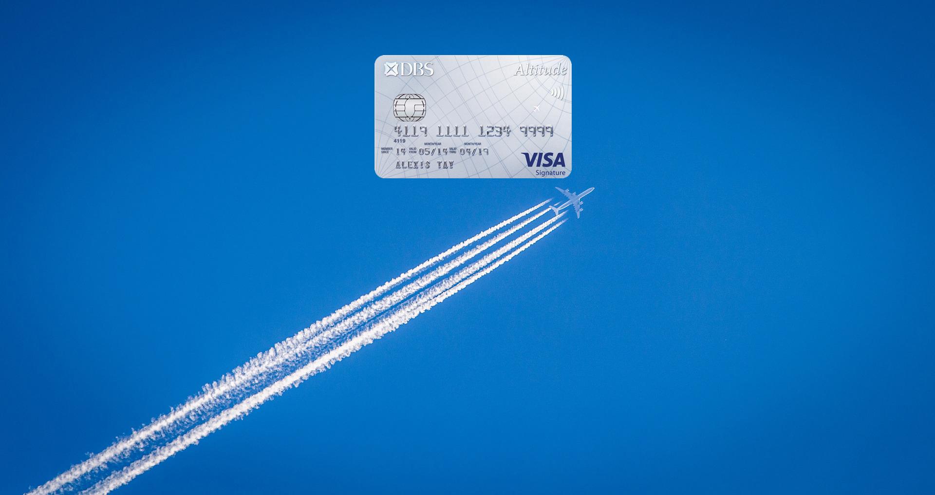 DBS Altitude Visa offering 2,000 bonus miles on overseas spend