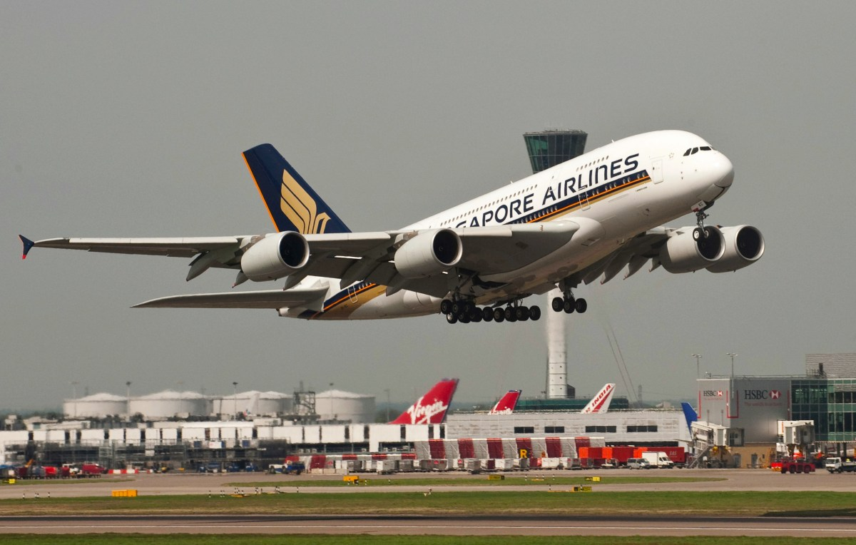 Singapore Airlines will fly three A380s per day to London next ...
