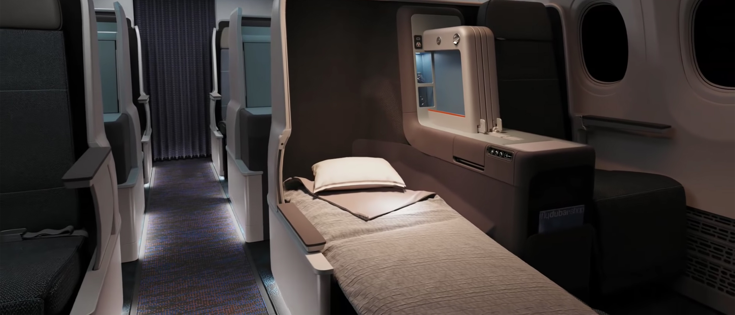 SilkAir's new Boeing 737 flat-bed Business Class seat options