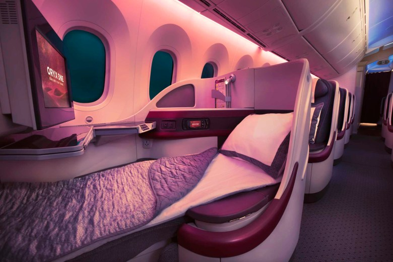 QR 787 J Bed (Qatar Airways)