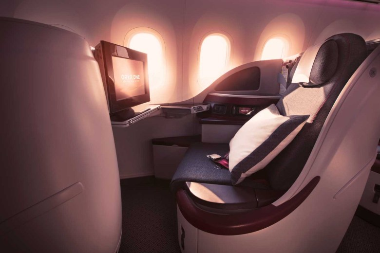 QR 787 J Seat (Qatar Airways)