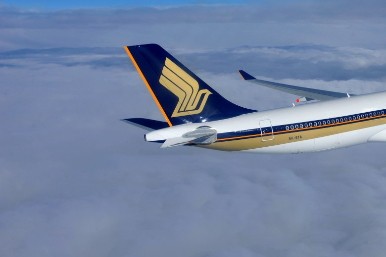 SQ A330 Tail (Singapore Airlines)