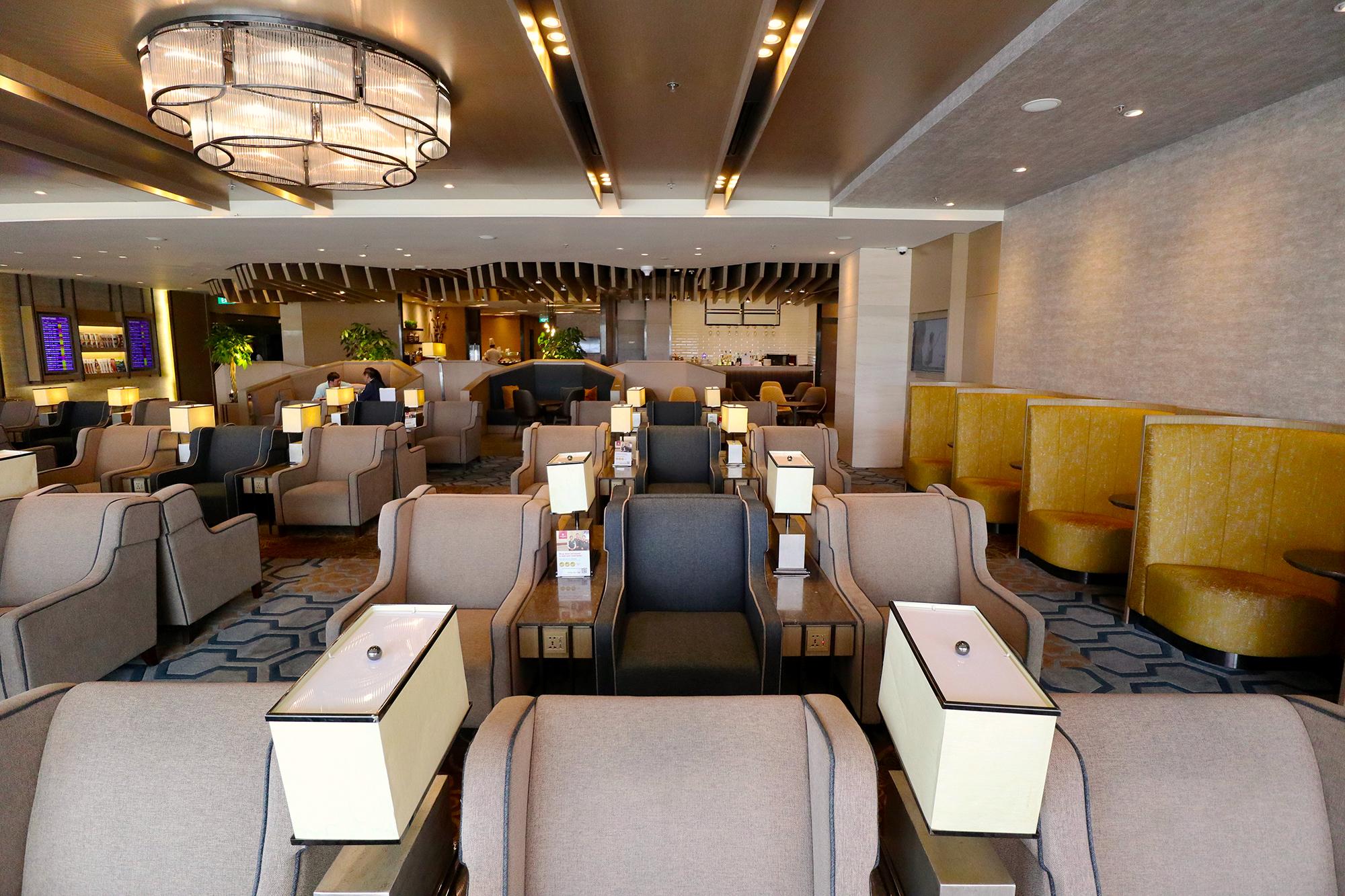 Review: Plaza Premium Lounge Singapore Changi T1