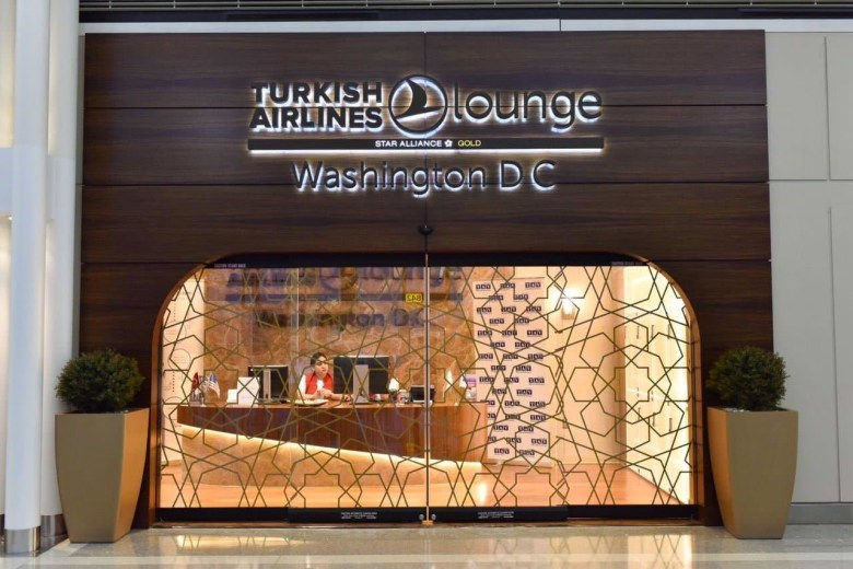 TK Lounge IAD Entrance (Turkish Airlines).jpg