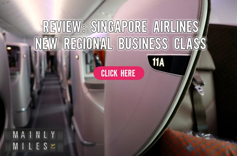 Review: Singapore Airlines 787-10 Business Class – Mainly Miles