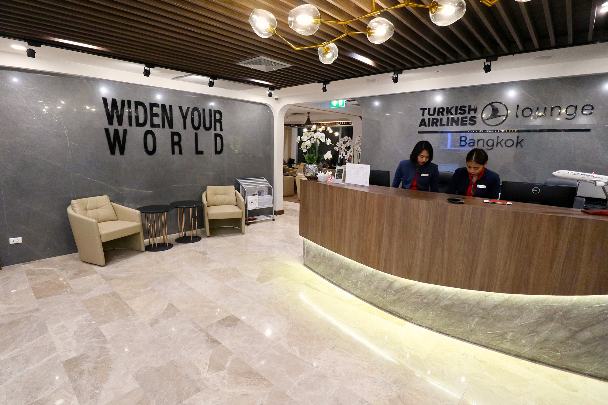 Review: Turkish Airlines Lounge Bangkok Suvarnabhumi