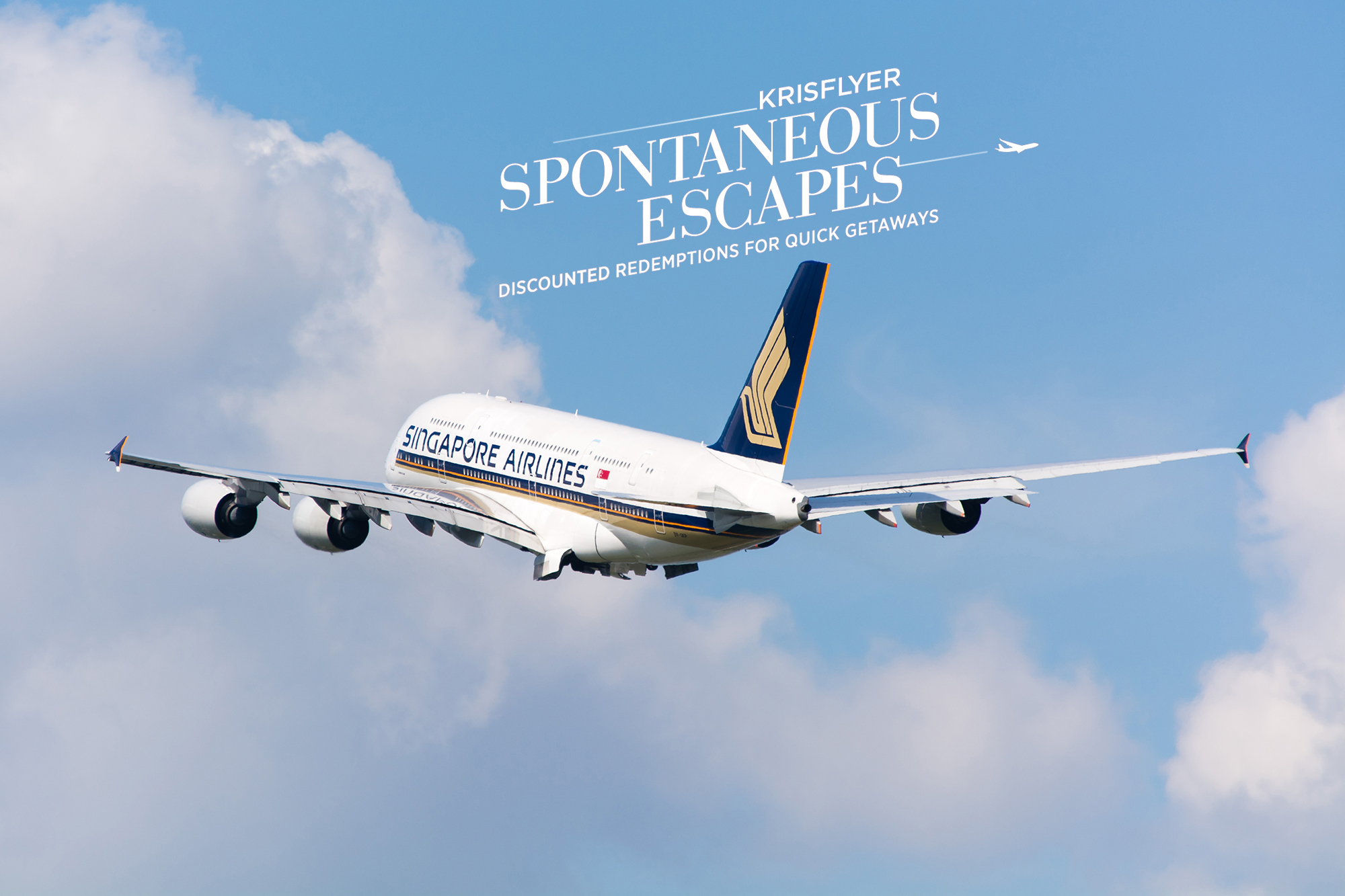 KrisFlyer Spontaneous Escapes October 2019 offers