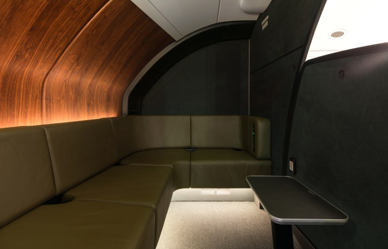 Qantas A380 onboard lounge 2