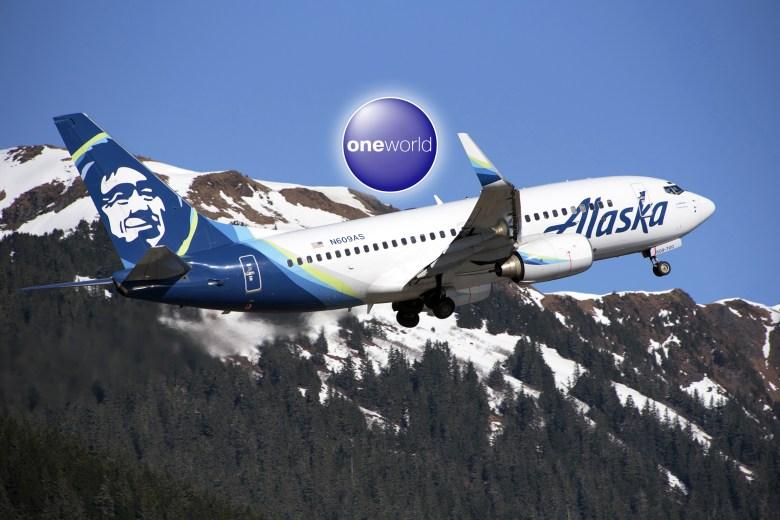 AS 737 Takeoff Oneworld (Kenneth Gill)