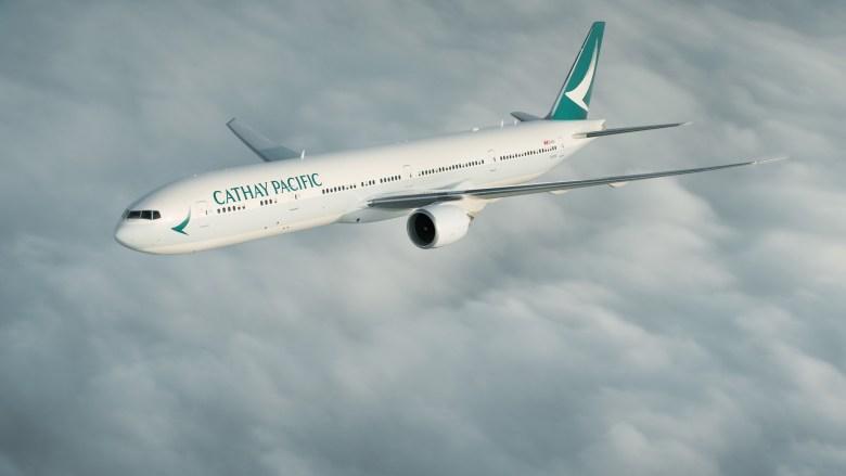 CX B77W 2 (Cathay Pacific)