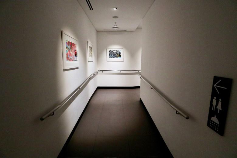 Corridor to Showers