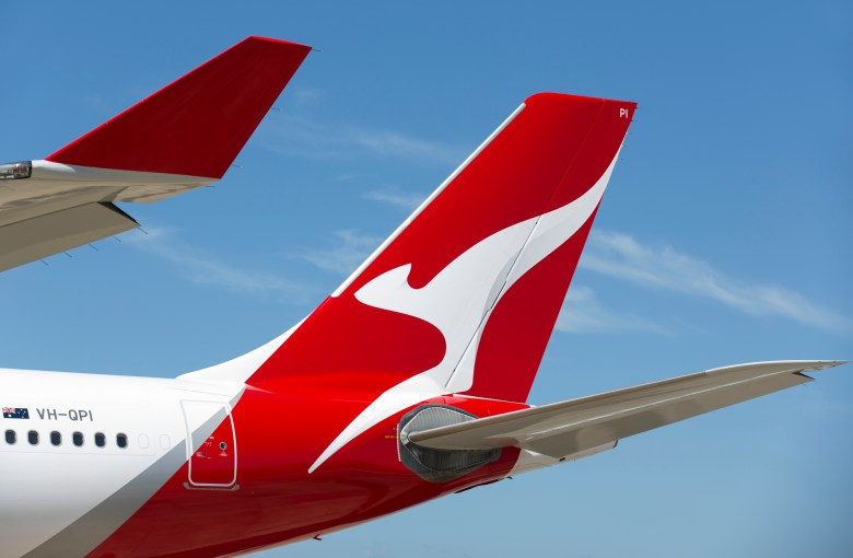 QF A330 Tail 2 (Qantas)