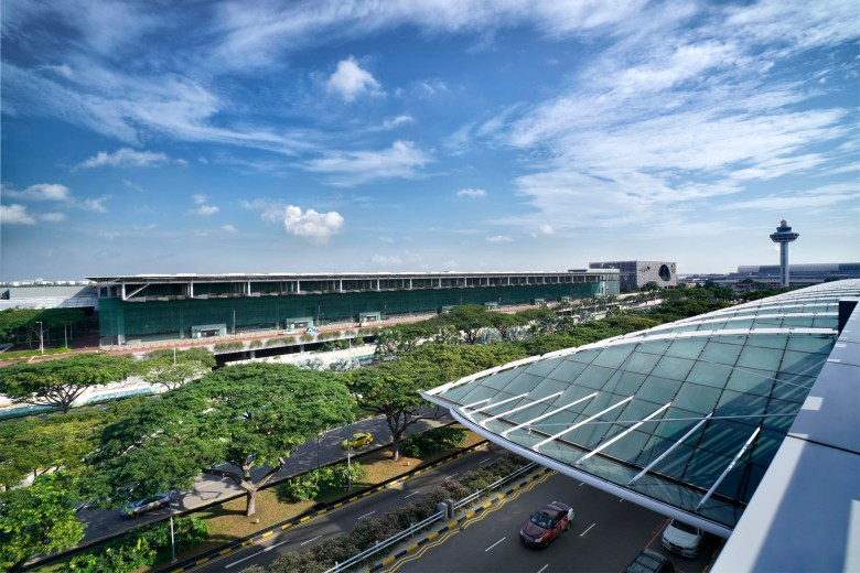 Changi T3 from T2 (CAG)