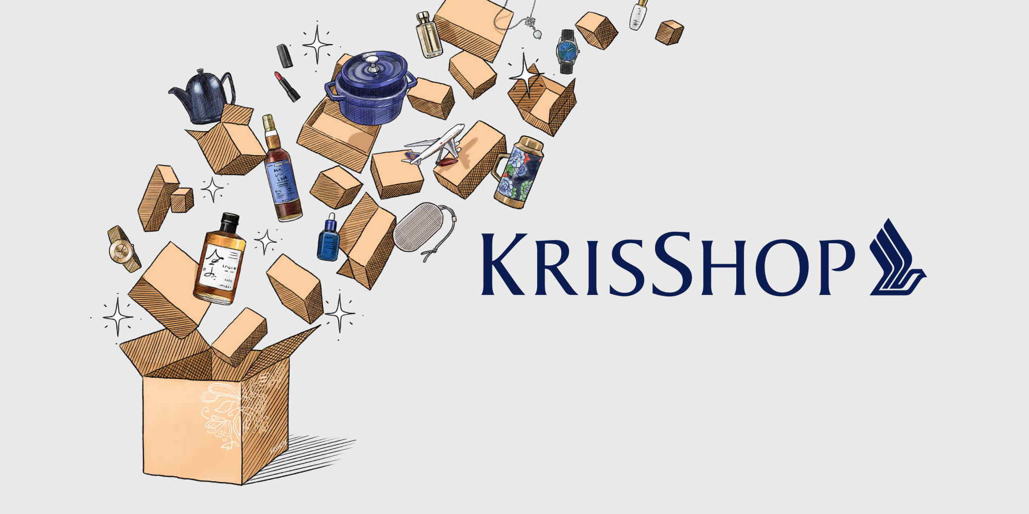 Win up to 200,000 KrisFlyer miles with KrisShop purchases in June