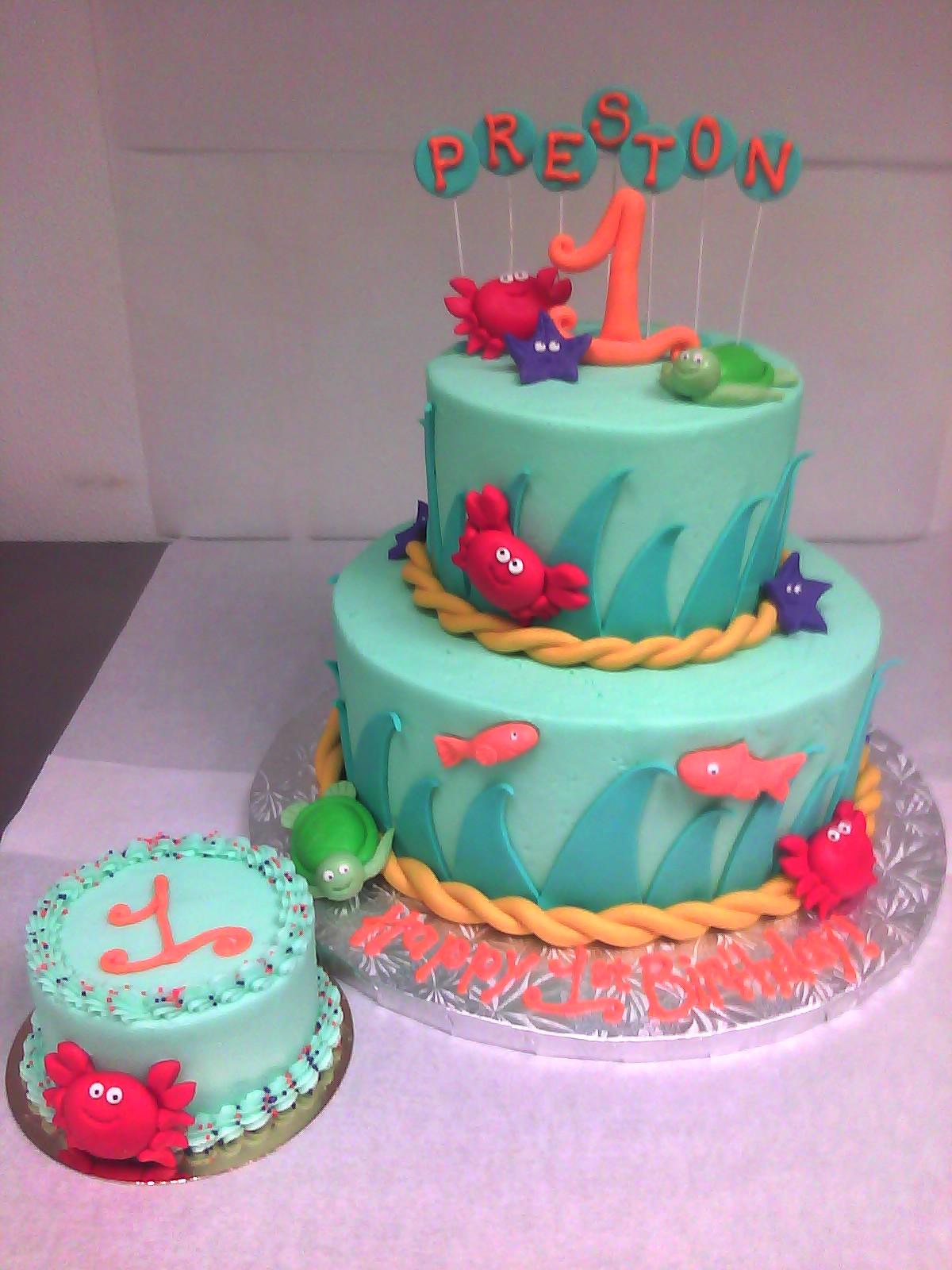 Ocean Themed Kids Birthday