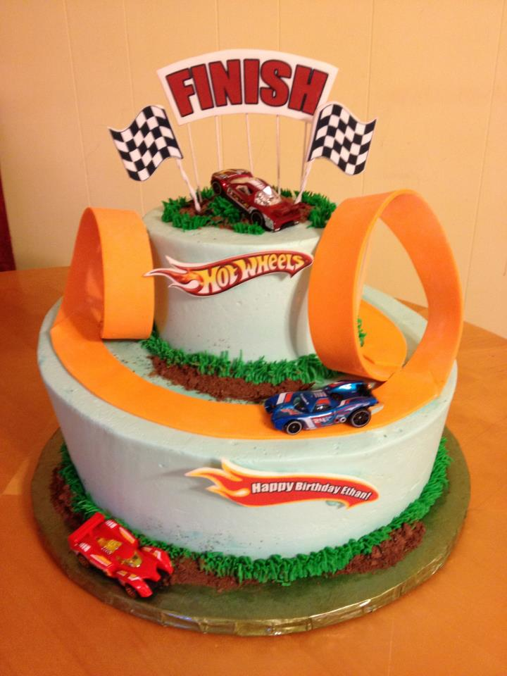 Hot Wheels Birthday Main Made Custom Cakes