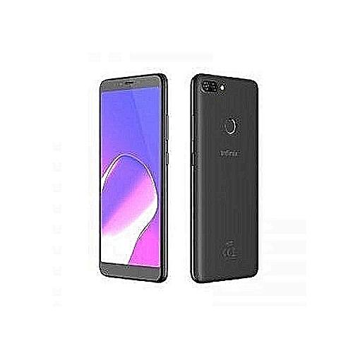 Infinix Hot 6 (X606D) 6-Inch HD+ (1GB RAM, 16GB ROM) Android 8 Oreo, 13MP +  8MP Dual Sim Smartphone - Sandstone Black – MainMarket Online