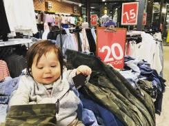 Angus Costume Shopping 2017
