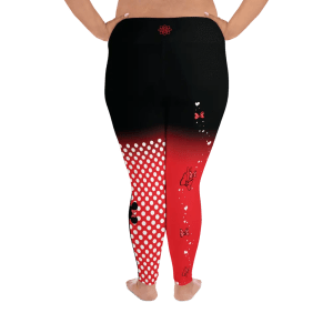 Dots & Bows | Curvy Leggings  | Made in the USA