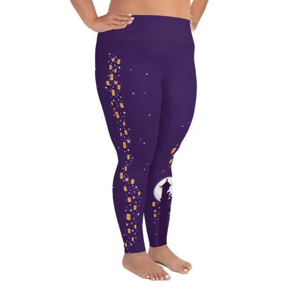 Lanterns and Dreams | Curvy Leggings  | Made in the USA