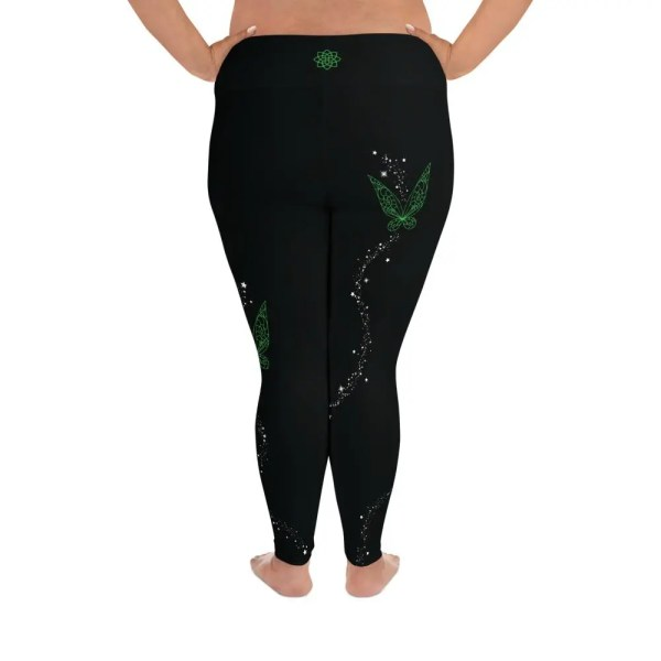 Pixie Wings | Curvy Leggings  | Made in the USA