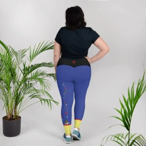Fairest Of Them All | Curvy Leggings  | Made in the USA