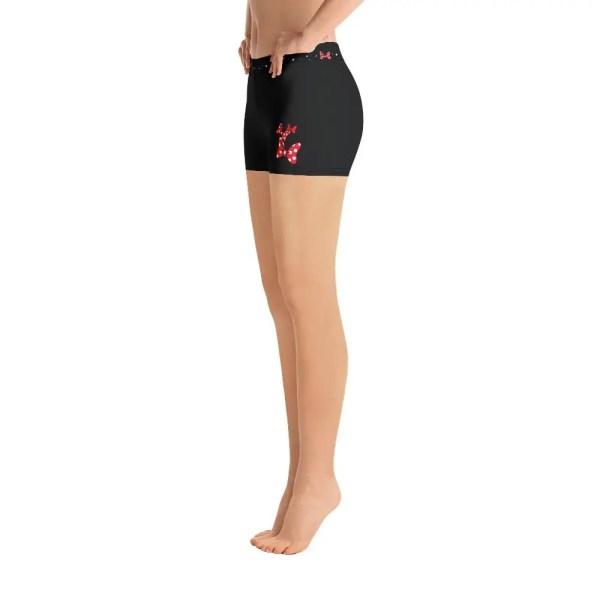 Dots and Bows | Fitness Shorts