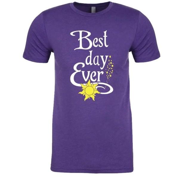 Best-day-ever-unisex-cotton-poly-crew-purple