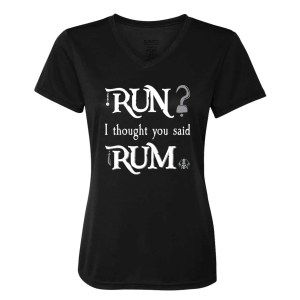 run-i-thought-you-said-rum-ladies-performance-vneck-black