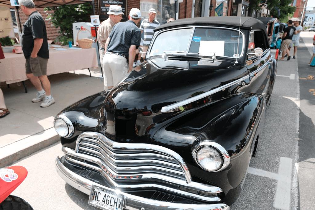 Saco Maine Classic Car Show