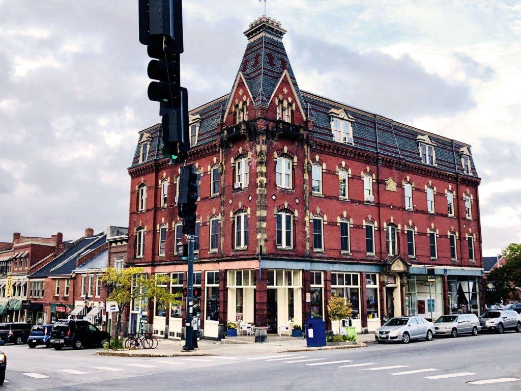 Masonic Building in Belfast, Maine