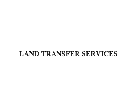 Land Transfer Services