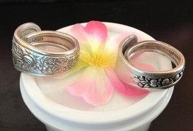 Spoon rings by Lisa Meyers.