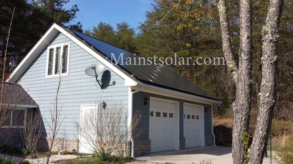 solar garage Virginia