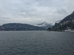 The beautiful Lake Como.