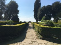 The gardens at Villa d'Este.